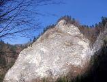 Przełom Dunajca - skały
