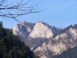 Trzy Korony - widok z Przełomu Dunajca