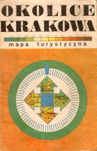 Okolice Krakowa: mapa turystyczna